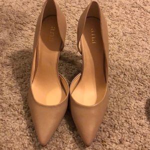 Brand new nude a.n.a heels